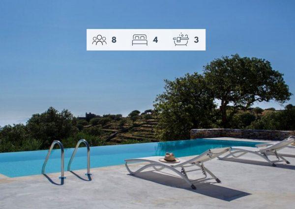 Villa Olivis, Kea, Greece